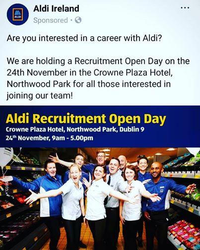 Aldi Recruitment day